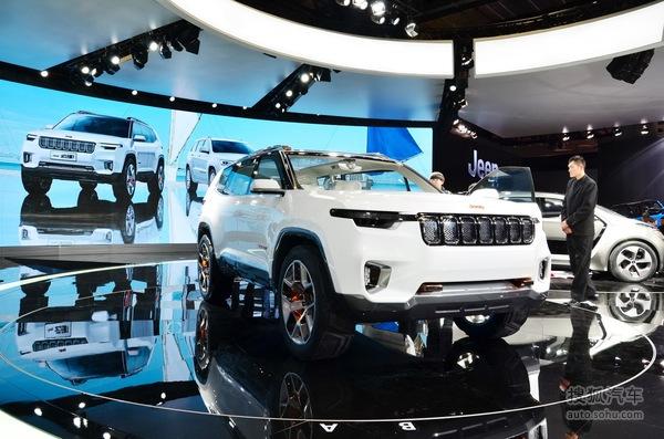或2018北京车展亮相 曝Jeep全新7座SUV谍照