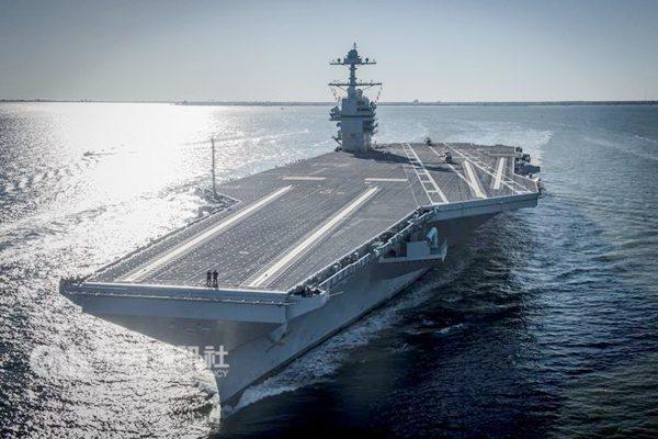 福特号刚服役就面临过时,中国一款强悍武器可令美航母