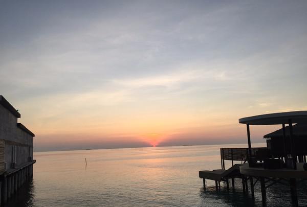 马尔代夫jd岛!幸福感满满的蜜月行!