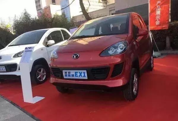 觊觎市场红利,潍柴推出纯电动四驱微型电动车英致EX1!