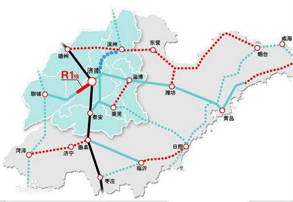 山东地�_山东这个地级市发达了,三条时速350高铁规划开工