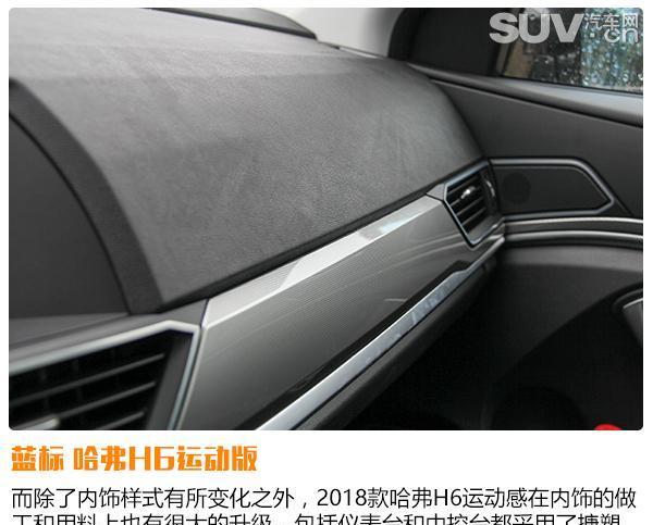 驾驶质感更出色 试驾2018款哈弗H6运动版