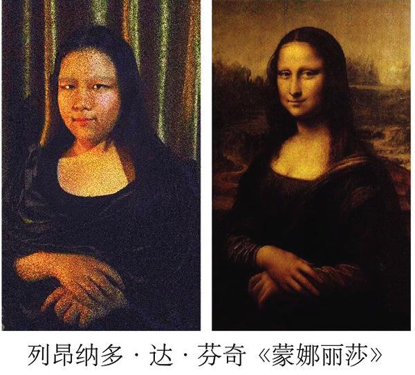大学生摆拍世界名画人物,蒙娜丽莎太辣眼睛,网友:不尊重作者