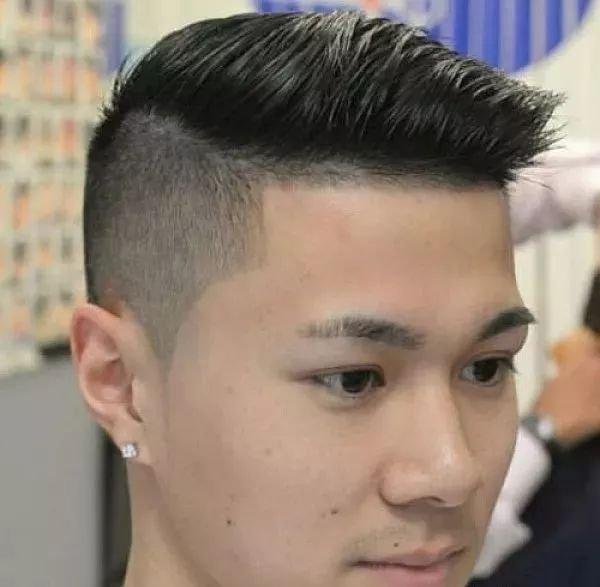 2018男生最潮发型图片,快来看图片