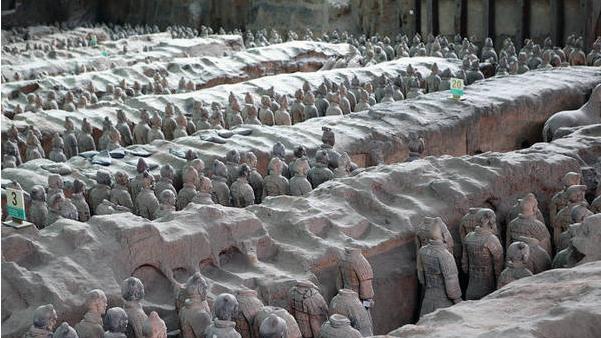 """我国的""""世界第八大奇迹""""秦始皇兵马俑,西安必去景点"""