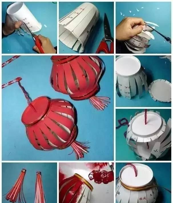 幼儿园创意手工灯笼大制作