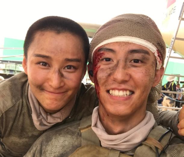 《红海行动》中唯一的女蛟龙,最帅机枪手,与吴京还是师兄妹!