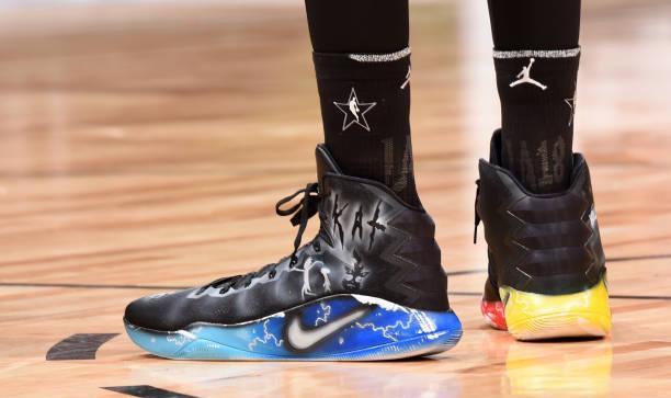 唐斯定制依旧闪亮!2018NBA全明星正赛球鞋赏