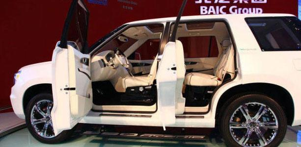 北汽这次够争气,造出国产全尺寸SUV,路虎要没市场了!!