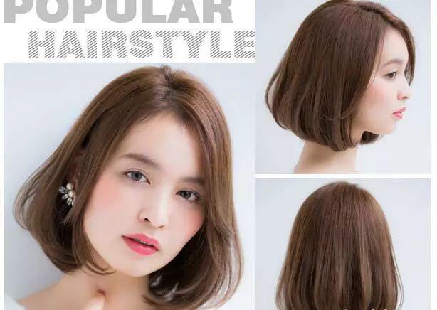今年最流行的短发发型设计与脸型搭配女生!图片