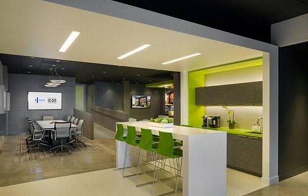 办公室就是间装修设计得够气派,我茶水想景观设计师做什么的图片