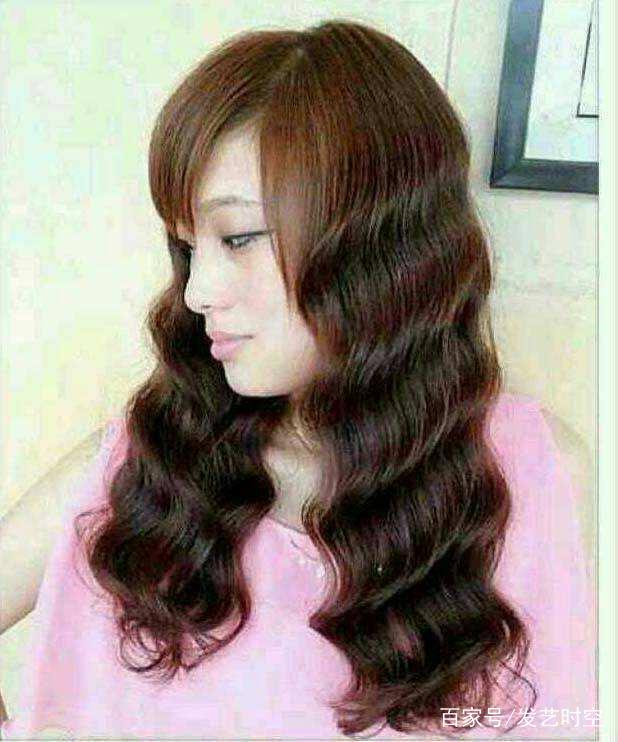 烫水波纹需要头发多长?图片