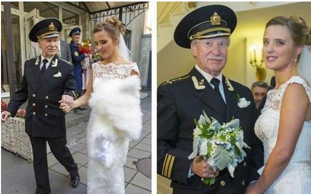 老头安检美女_24岁美女嫁给84岁老头,两人年龄相差60岁,是真爱吗?