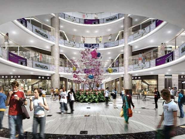 """从""""马家巷现象""""到万象城市广场 是大荔城市商业发展的见证"""