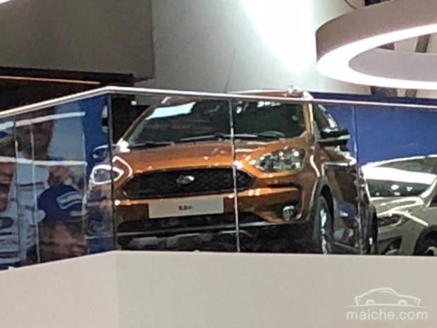 2018日内瓦车展 福特Ka+ Active亮相