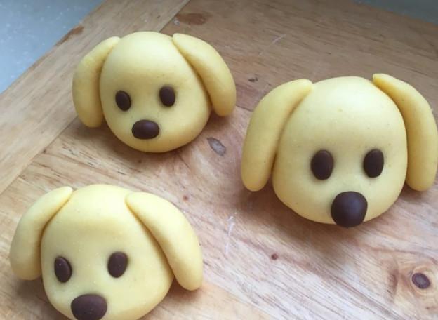 狗狗馒头_小狗馒头