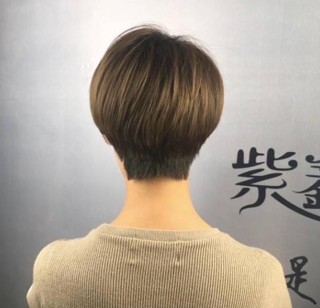 """2018流行""""帅气型""""短发20款图片"""