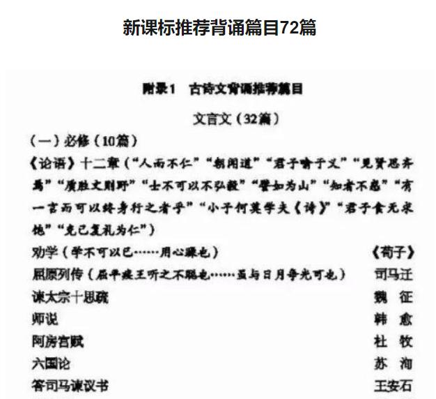 """教育部:新增58篇""""诗文""""背诵!高考生:疯了!"""