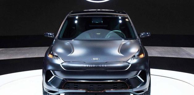 起亚全新Niro电动概念车 2018年CES亮相