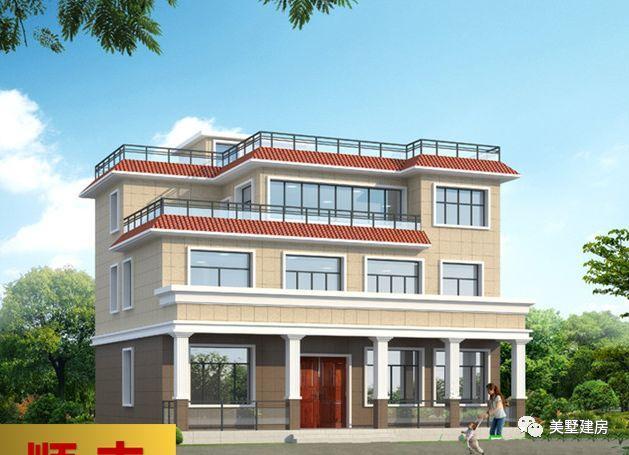 春节回农村老家建房子, 这20款别墅图纸你一定不能错过!