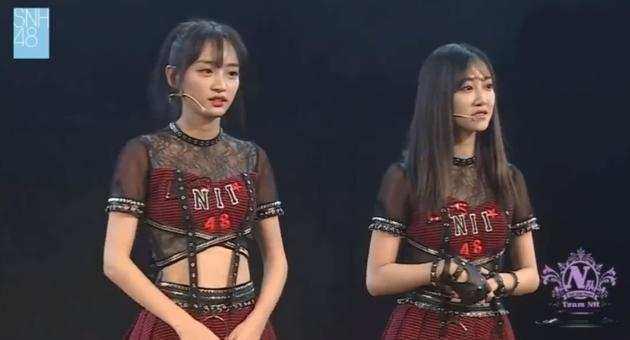 SNH48冯薪朵黄婷婷宣布辞去队长职务 冯薪朵黄婷婷代表N队道歉