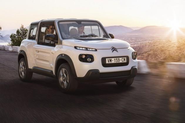 追加硬顶改内装,活力电动小车Citroen E-MEHARI改款登场