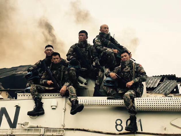 一龙主演电影《中国蓝盔》今年上院线,票房望挑战战狼2红海行动