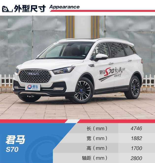空间君马s70进口亮点突出/试驾表现优异!中国有宝马5系配置的吗图片