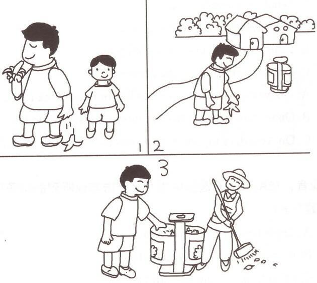 家有一年级娃娃,如何辅导看图写话图片