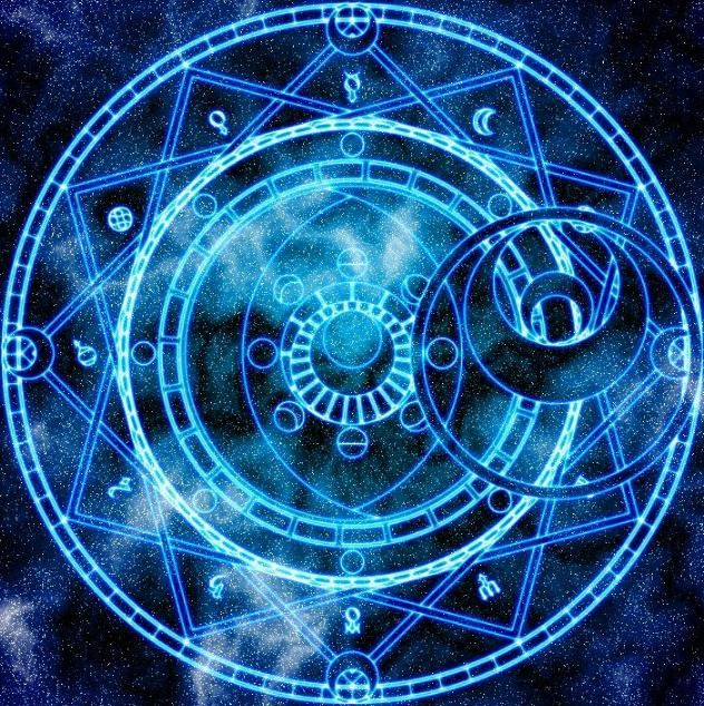 十二星座专属帅气科幻阵,射手座魔法风格,狮子座a科幻神秘!11月25水瓶座图片