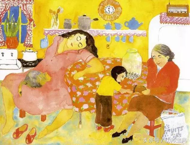 幼儿园:劳动节|绘本分享《妈妈的红沙发》