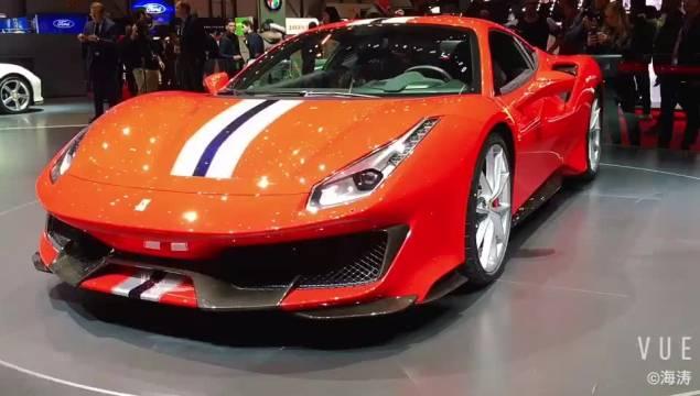 日内瓦车展1 从当年的430Scuderia开始,MR V8车型的轻量化...