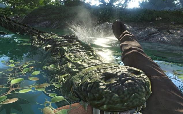 绝地求生玩家最期待的动物系统,水里有鳄鱼,你敢当水鬼?