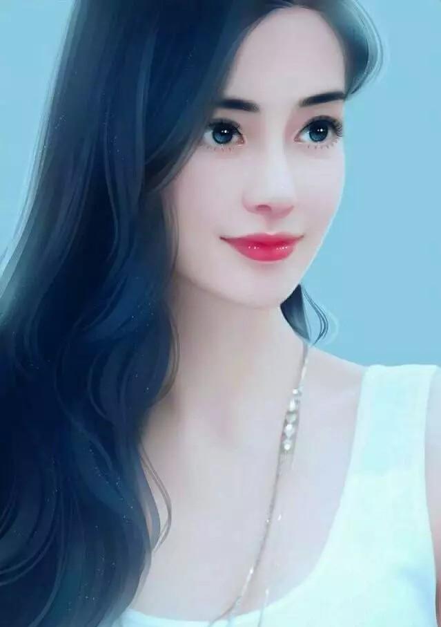 女明星的漫画照,赵丽颖杨幂可爱迪丽热巴惊艳!