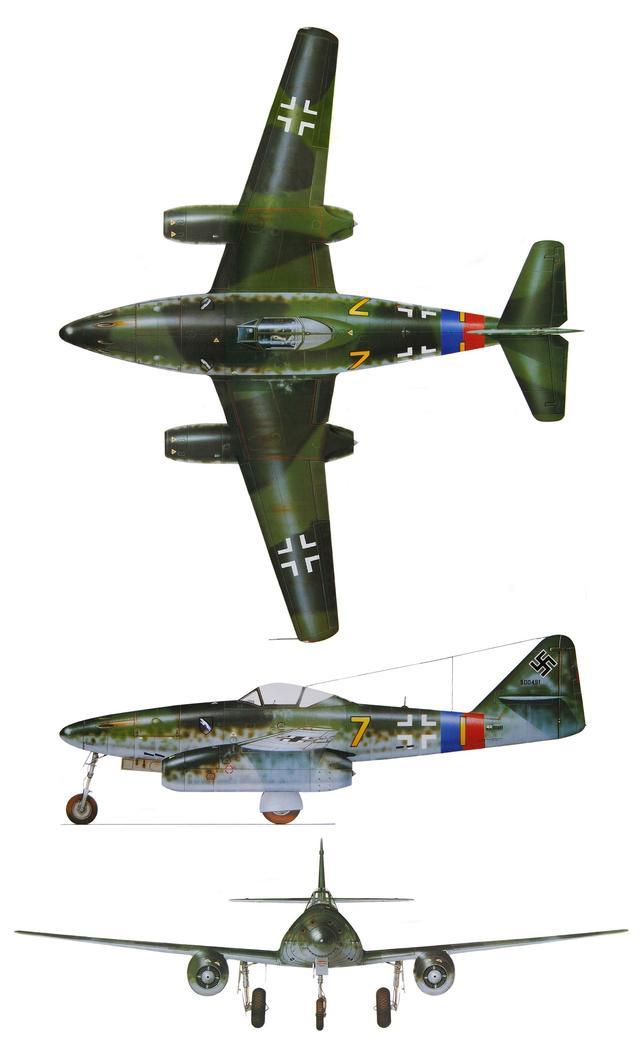 二战时德国1400多架me-262超级战斗机,为何还输给盟军?