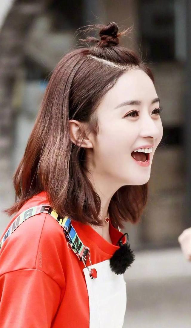 女明星剪短发:刘亦菲毁形象,赵丽颖可爱,迪丽热巴让我