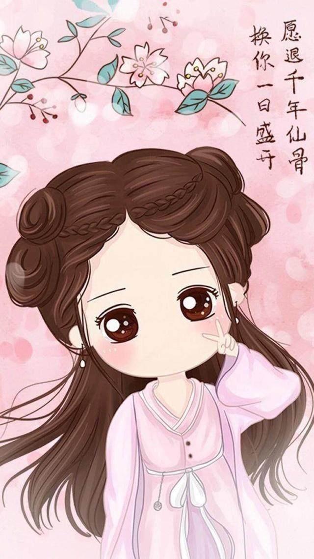 盘点女星的卡通漫画图,杨幂潮范十足,赵丽颖呆萌可爱