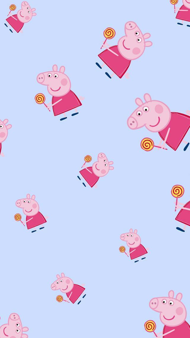 可爱小猪佩奇动画手机壁纸