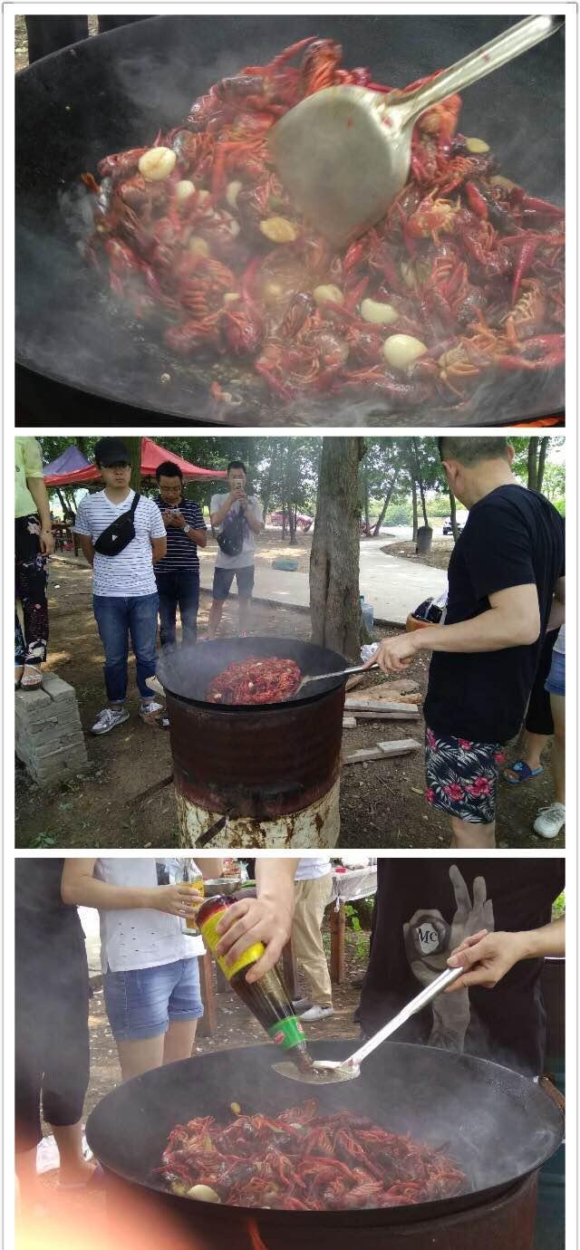 游记:边赏荷花边钓龙虾,还可以免费摘蔬菜、烧烤,离市区15分钟,爽得很!