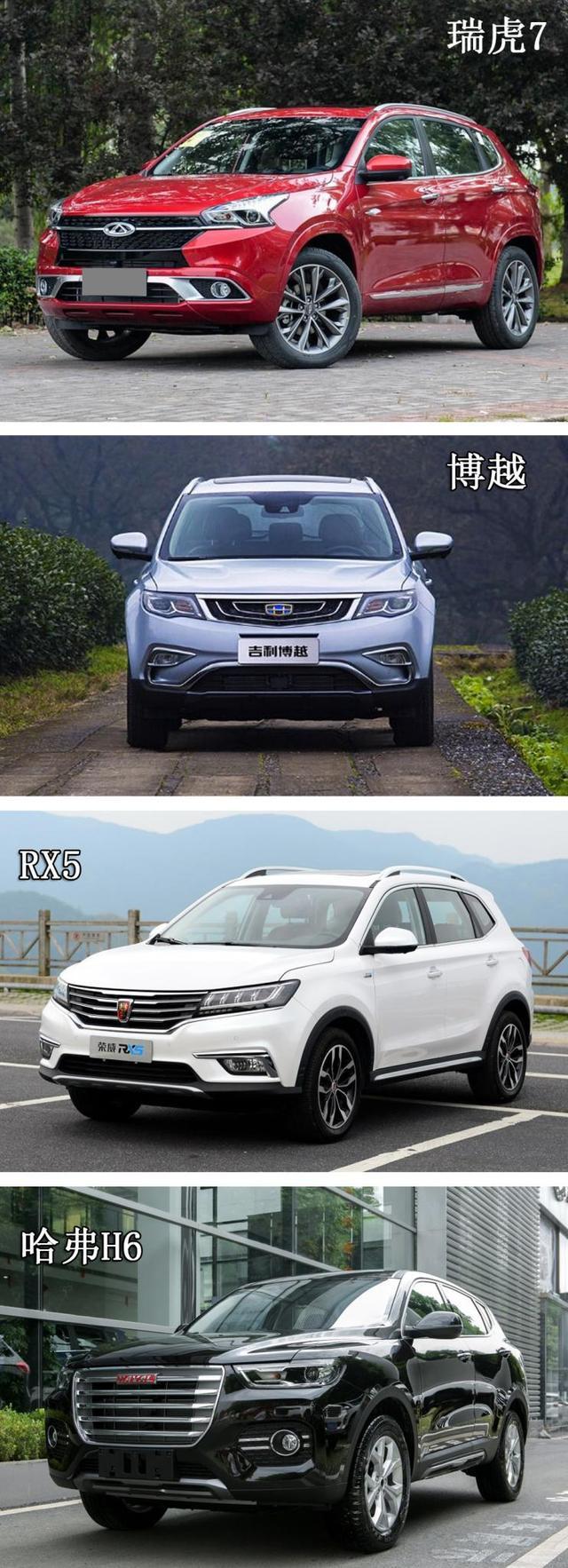 15万四款主流SUV,谁才是最适合你的选择?