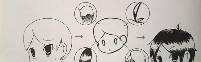 《影子漫画》q版人物头发的画法与示范讲解