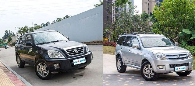 国产SUV的保值率差多少?看10年前的奇瑞瑞虎VS哈弗H3