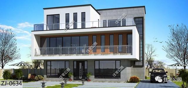 10套农村别墅建筑图,8到15米宽户型别墅有,总全都海尔绿城济南图片