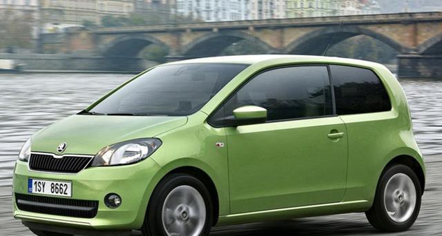 媒体绘制了Citigo性能版车型-Citigo RS假想图