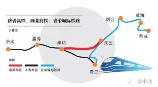 今年2月,据官方媒体发布消息,潍莱高铁已列入山东省综合交通2020年近期规划,成为省内三横快速铁路网的中部通道。根据省发改委批复的新建潍坊至莱西铁路项目建议书,潍莱高铁铁路等级为客运专线,设计时速350公里,正线线路长度122.631公里,项目总投资约为161.74亿元。 今年11月9日,平度市委常委、副市长毛军响在做客民生在线栏目时透露,潍莱高铁已由省发改委铁路办牵头推进,目前正与铁路总公司积极对接接轨方案,并已启动挂网招标程序,建设工期为3年。 11月23日,根据官网媒体报道,潍莱高铁项目