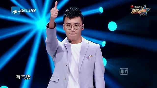 请问有人知道在《梦想的声音》节目里歌手萧敬腾 演唱