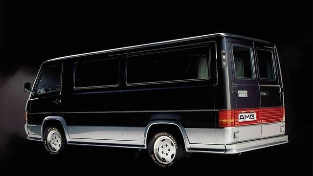 三十年前就推出过的高性能面包车 AMG MB100的历史