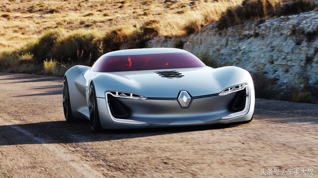 被誉为世界最美的概念车——纯电动自动驾驶GT概念车雷诺Trezo
