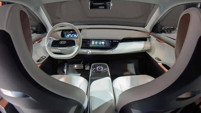 起亚电动概念SUV Niro亮相CES,续航里程达383公里