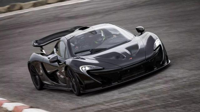 迈凯轮测试纯电动超跑